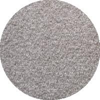 Tissu 100% polyester - gris argent