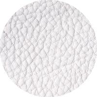 Tissu 100% PU - blanc
