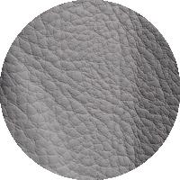 Tissu 100% PU - gris argent