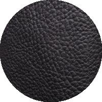 Tissu 100% PU - noir