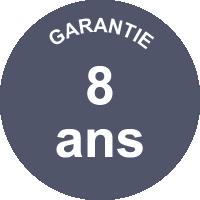 Garantie 8 ans