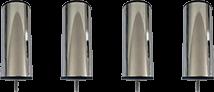 Accessoires - Pieds CYLIND aluminium - Literie Duault