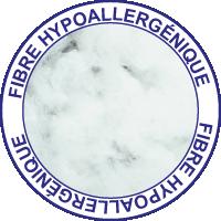Fibre hypoallergénique